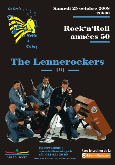 Affiche_The_Lennerockers